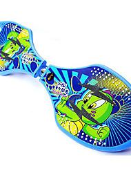 klassische Skateboard (53 * 36mm) drak blau / hellblau