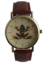 Foreign Trade Selling Cute Frog Pattern Student Watch
