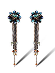TIANSHE Women'S Stylish diamond earrings earrings  1 pair