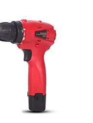 12A- 1 Plastic Box 1 Electrical Charge + Accessories Multifunctional Lithium Hand Drill Electricc Tool Torque Dril