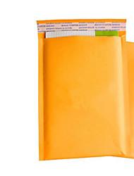 tache jaune intégrée kraft bulles enveloppes colis postal courrier sacs de sacs à bulles un paquet de compression sismique dix