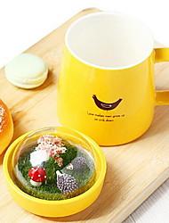 Creative Micro Landscape Ceramic Cup Cute Mug for Student