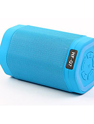 q7 bluetooth carte mini haut-parleur haut-parleurs de radio portable conduit audio lumières subwoofer mini-