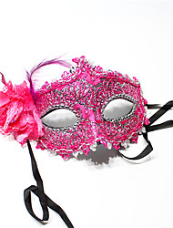 Halloween Costume Party Lace Mask Random Color