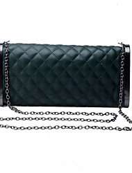 L.west Women Elegant High-grade Plaid Evening Bag
