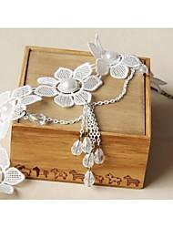 Presentes para Festa de Chá(Branco) -Tema Clássico-Casamento 35*5