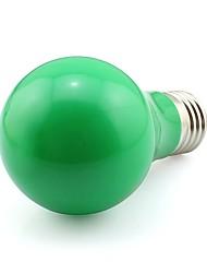 5W E27 Luz de Decoração A60(A19) 20 SMD 3020 420 lm Verde Decorativa AC 100-240 V 1 pç