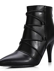 Women's Shoes Stiletto Heel Pointed Toe Zip Ankle Boot More Color Available