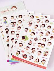 Wedding/Anniversary/Bridal Shower/Baby Shower/BirthdayFestival 1set Paper Stickers
