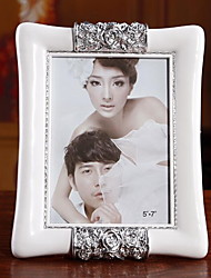 7 Inch European Quality White ABS Frame Wedding Supplies