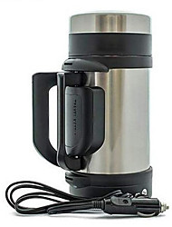 Meritcan Vehicle Stainless Steel Heating Cup 304Automobile Electric Heating Kettle Large Capacity 1.2L