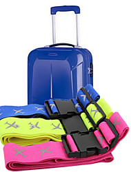 Outdoor Travel Luggage  Reflective Package With Colored Nylon Strap With A Set Of Three Color