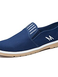 Westland® Men's Loafers & Slip-Ons  Comfort/Flats Canvas Outdoor/Athletic/Casual Flat Heel White/Black/Blue