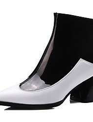 Women's Boots Spring / Fall / Winter Heels / Fashion Boots / Pointed Toe Dress / Casual Chunky Heel Zipper  Others