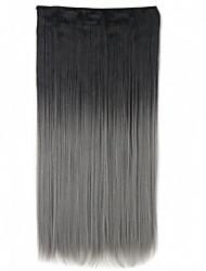 A Clipser Synthétique Extensions de cheveux 130 Extension des cheveux