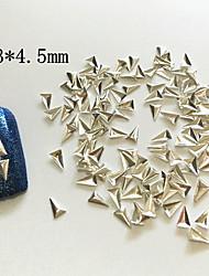 Стразы для ногтей0.3X0.45-100-Металл