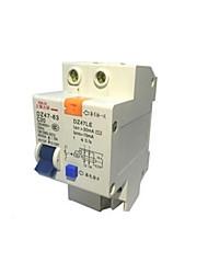 Disjoncteur de protection de fuite (courant nominal disjoncteur: 63a)