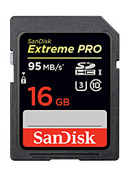 16GB 32GB 64GB 128GB 256GB Extreme PRO SDHC SDXC UHS-I High Speed Memory Card (95MB/S)