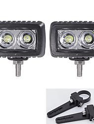 2x levou cree bares luz SUV 4WD ATV 4 * 4 veículos offroad com um par de 1,5 polegadas suportes de montagem
