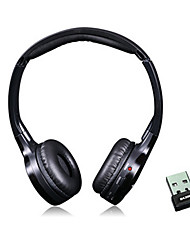 DA300 2.4G Digital Wireless Headphone with Built-in Microphone for PC Tablets