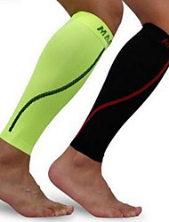 Attelle de Genou pour Football Course Basket-ball Homme Compression Des sports Extérieur Nylon