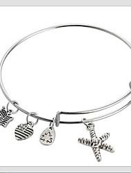 The Starfish Pendant Bracelet