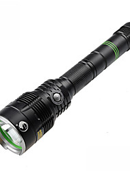 U`King® LED Flashlights/Torch LED 3H (depending on the battery capacity calculation) Lumens 5 Mode - Cree XM-L2 18650Dimmable Compact