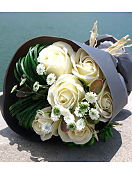 Wedding Flowers Round Roses Bouquets Wedding Foam