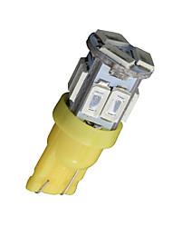 10x T10 W5W 192 168 194 7014 5730 11 11smd conduit lumières jaunes secondaires a mené la lumière de coin 12v