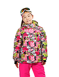 Ski Wear Ski/Snowboard Jackets Tops Kid's Winter Wear Classic Winter Clothing Thermal / WarmSkiing Camping / Hiking Downhill Snowboarding