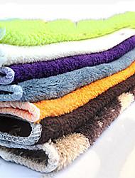 óleo de pano à prova de cor pura fácil ferramentas de pano de limpeza, têxtil (cor aleatória)