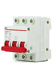 миниатюрный автоматический выключатель выключатель 4p воздуха