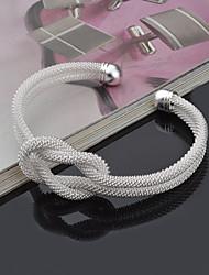 Bracelet Bracelets Rigides / Manchettes Bracelets Argent sterling Forme Ronde Style Punk / Ajustable / Adorable / InspirationMariage /