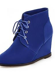 Women's Boots Spring / Fall / Winter Wedges / Fashion Boots Fleece Wedding / Outdoor / Party & Evening / Dress