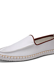 British Style Men's Business Leather Shoes Casual Slip-on Men's flats&Loafers for Party Trip