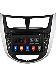 "ownice 7 ""hd 1024 * 600 quad core android 4.4 DVD do carro para hyundai verna gps rádio"