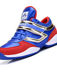 Garçon-Décontracté-Bleu / Vert-Talon Plat-Confort-Sneakers-Polyuréthane