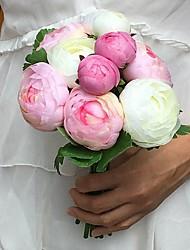 Свадебные цветы Круглый Пионы Букеты Свадьба / Партия / Вечерняя Атлас Около 15 см