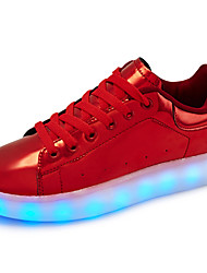 Women's Sneakers Light LED Shoes 7 Colour  luminous fluorescent shoe Summer Winter Patent Leather Outdoor Casual