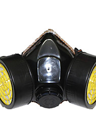 Protective Dust  Gas Masks(Material:Rubber & Plastics & Activated Carbon;)