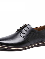 Men's Shoes AOKANG brand genuine leather business oxford pattern shoes office male casual shoes