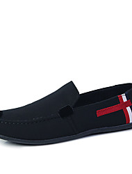 Men's Shoes PU Casual Flats Casual Walking Flat Heel Others Black / Blue / White
