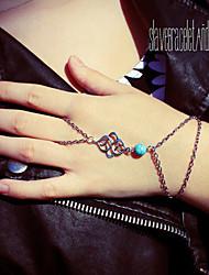 Chain Bracelets 1pc,Silver Bracelet Fashionable Circle 514 Alloy Jewellery