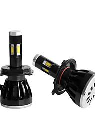 2pcs 2010-2013year фокус 5000lm водить фары h4 дальнего света Комплект светодиодных фар H4 ближнего света Комплект светодиодных фар