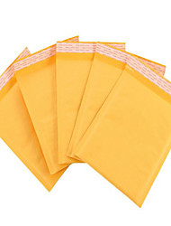 amarelo bolha envelope kraft bolha envelope saco do correio envelope sacos de tomada de fábrica manchar um pacote de dez