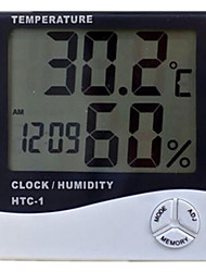 Electronic Hygrometer(Temperature Range -50~70° C ;Humidity Range 10%~90%RH ;7 Batteries)