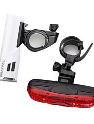 Luzes de Bicicleta / Luz Frontal para Bicicleta / Luz Traseira Para Bicicleta LED - Ciclismo Fácil de Transportar AAA 400 Lumens Bateria
