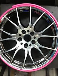 automobile mozzo della ruota proteggere pneumatico anello di protezione anello mozzo della ruota decorativi anello di collisione striscia