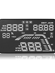 GPS Head Up Display Satellite Velocimetry Altitude Instrument Compass The Five Paragraph Of The General Alarm HUD