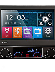 1 DIN 7 '' HD LCD touch screen lettore DVD dell'automobile TFT con il GPS Navi Radio in plancia built-in 3G WIFI BT SWC specchio-link